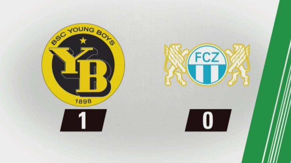29e journée, YB – Zurich (1-0) : tous les buts [RTS]