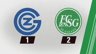 29e journée, GC – Saint-Gall (1-2) : tous les buts [RTS]