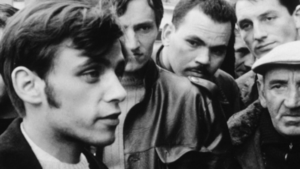 Ouvriers en Mai 68. [RTS]