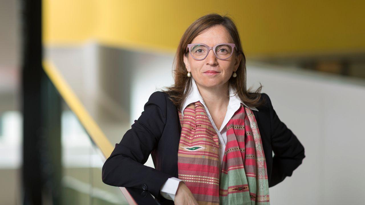 Philomena Colatrella, PDG de l'assurance CSS. [Gaëtan Bally - Keystone]