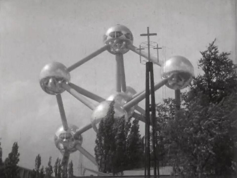 Visite de l'exposition universelle de Bruxelles.