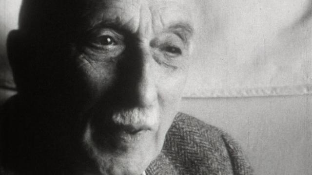 L'écrivain français François Mauriac en 1968. [RTS]