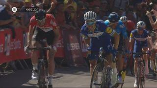 La Flèche Wallone 2018: Julian Alaphilippe (FRA) s'impose au sprint devant Valverde (ESP) [RTS]