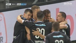 30e journée, Sion – Lugano (0-1): 64e, Janko [RTS]