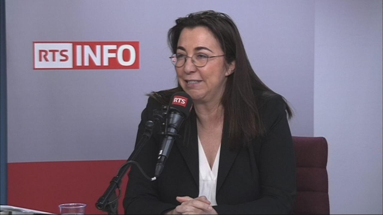 L'invitée de Romain Clivaz (vidéo) - Cesla Amarelle, conseillère d'Etat socialiste vaudoise [RTS]
