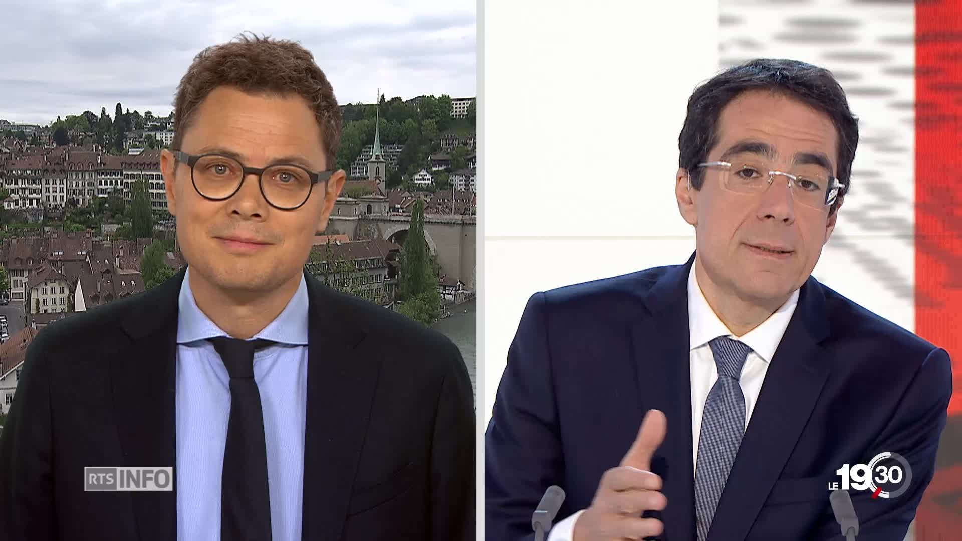 Christoph Blocher - Media: analyse de Pierre Nebel, depuis Berne