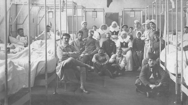 Hôpital 1914-1918 [Wikimedia Commons]
