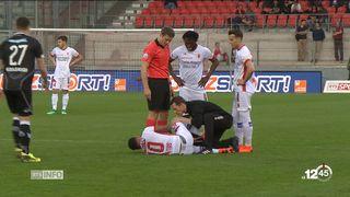 Super League: mauvaise opération pour Sion contre Lugano [RTS]
