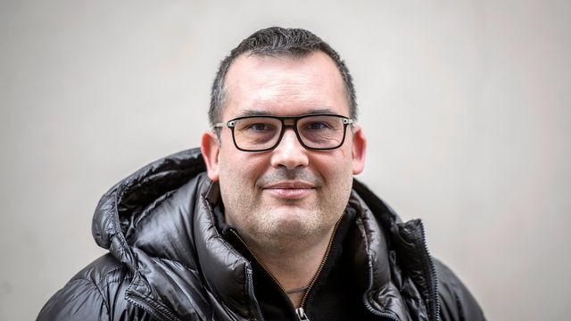 Sébastien Fanti, préposé valaisan à la protection des données. [Olivier Maire - Keystone]