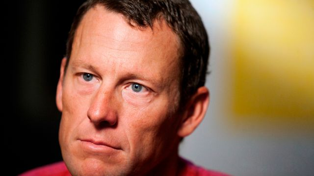 L'ancien coureur cycliste américain Lance Armstrong ici en 2015 à Austin au Texas. [Thao Nguyen - Keystone]
