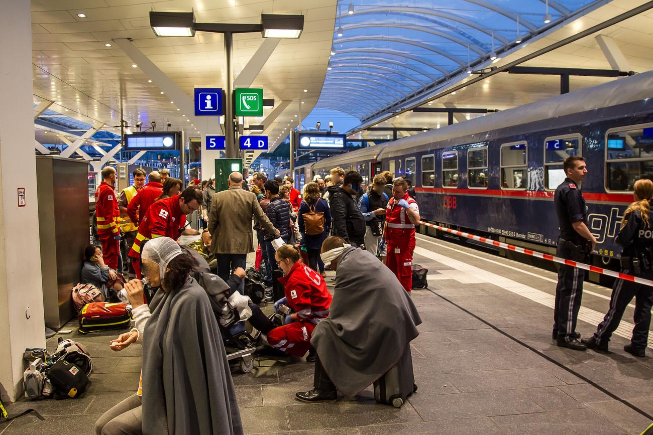 Une trentaine de blessés dans un accident de train à Salzbourg — Autriche