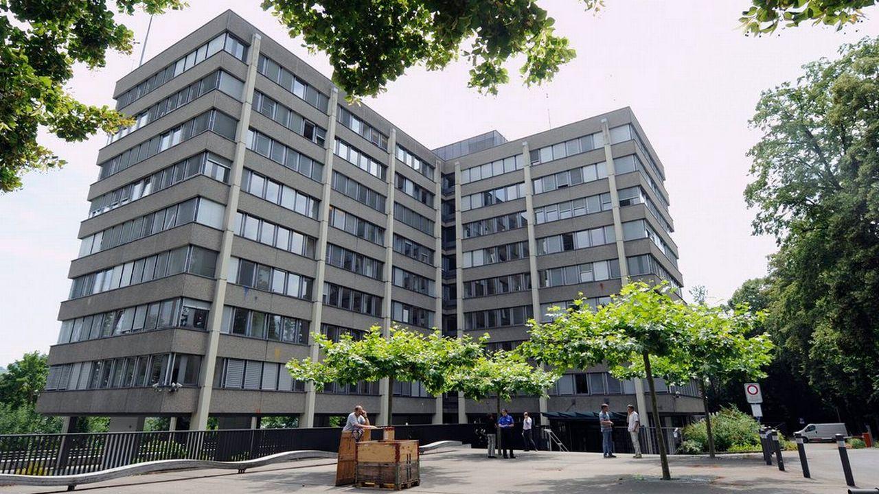 Le bâtiment du Ministère public de la Confédération, à Berne. [Lukas Lehmann - Keystone]