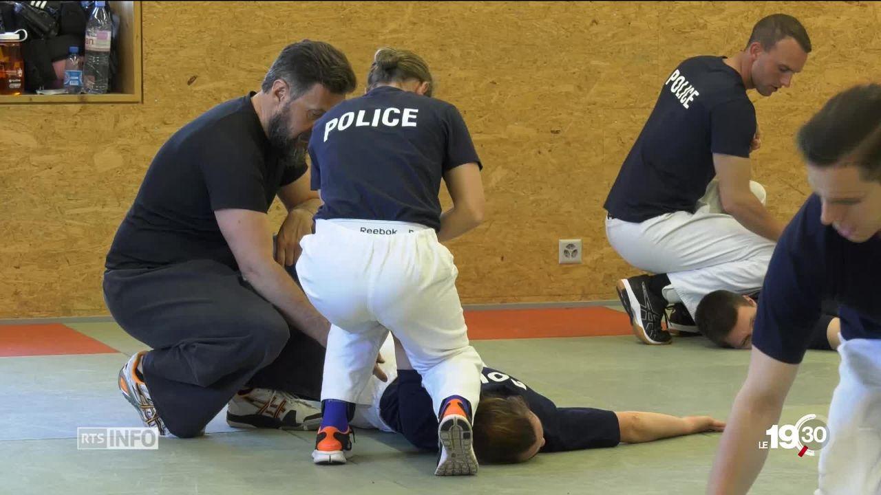 Académie de Police de Savatan: la formation fait débat [RTS]