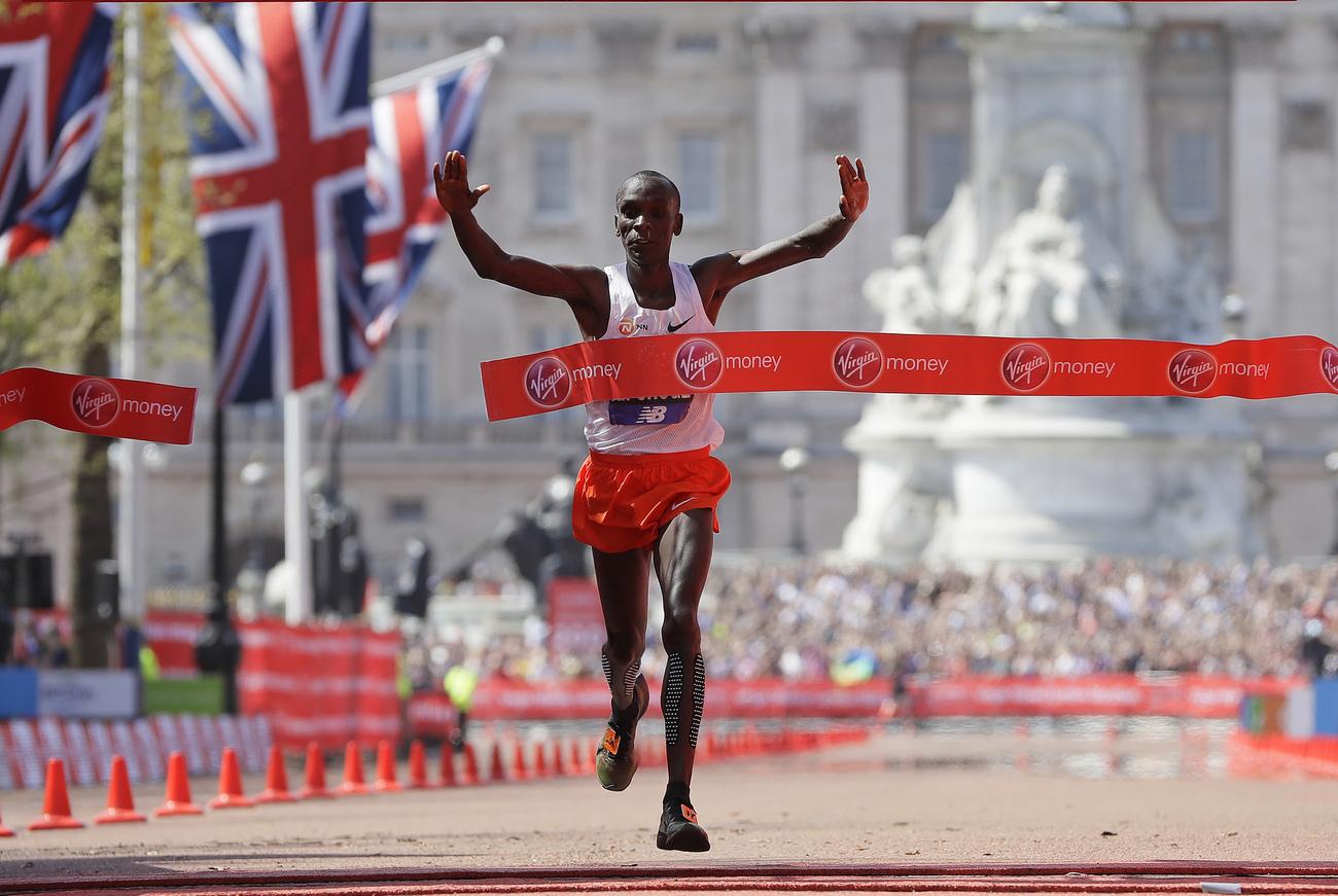 Victoire des Kenyans Kipchoge — Marathon de Londres