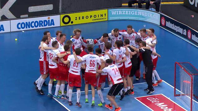 SV Wiler-Ersigen - Floorball Köniz (2-5): Köniz s'impose largement et remporte le titre [RTS]