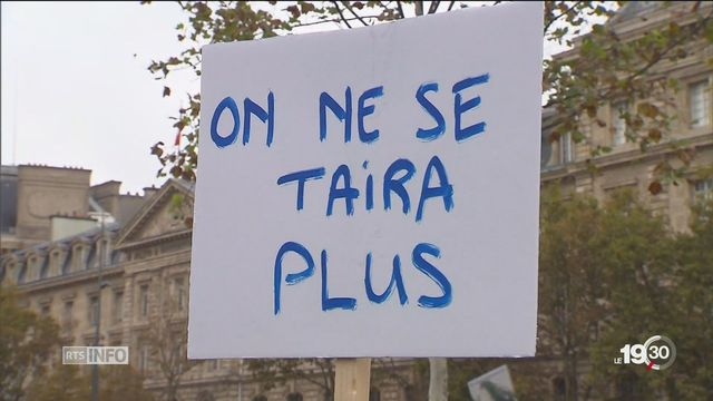 Davantage de dénonciations pour agression sexuelle depuis #metoo en Suisse. [RTS]