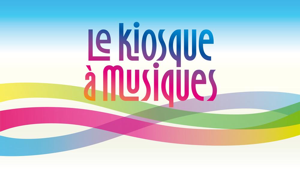 """Logo de l'émission """"Le kiosque à musiques"""". [DR - RTS]"""