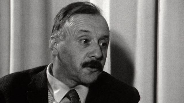 L'écrivain valaisan Maurice Chappaz en 1968 [RTS]