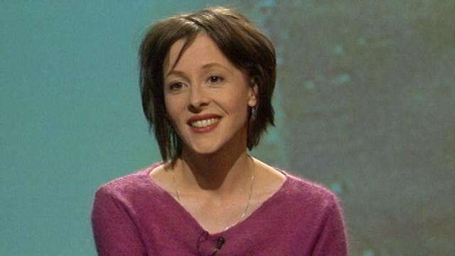 L'auteure valaisanne Noëlle Revaz en 2002. [RTS]