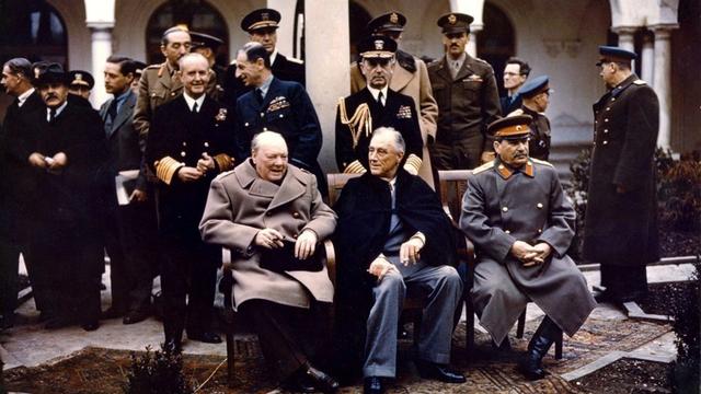 La conférence de Yalta [Wikimedia Commons]