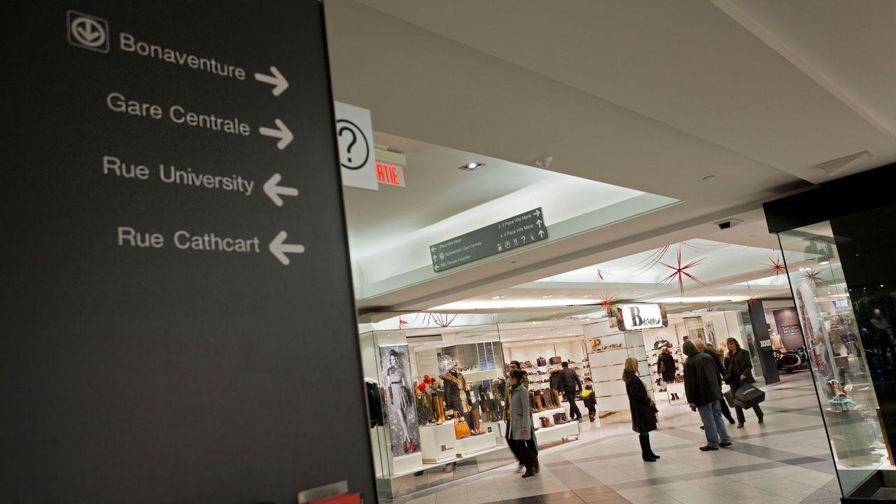Le centre commercial souterrain de Ville-Marie à Montréal. [AFP]