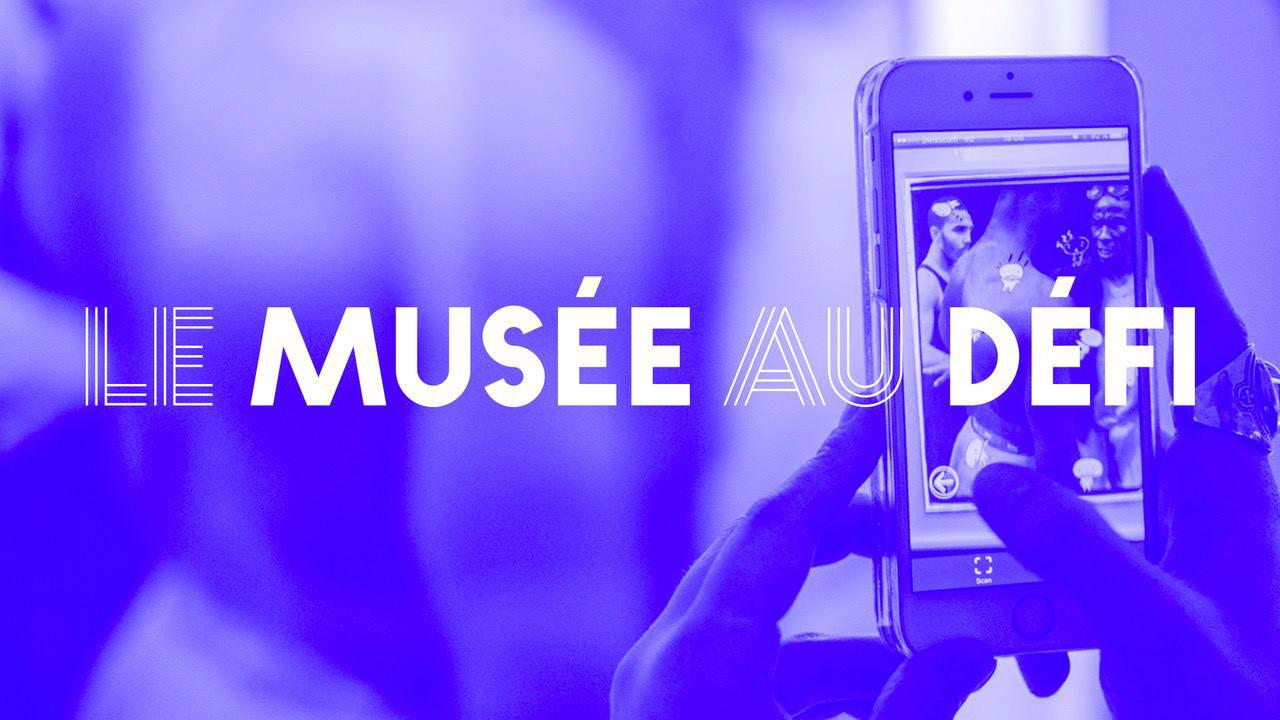"""Logo pour le projet """"Le musée au défi""""."""