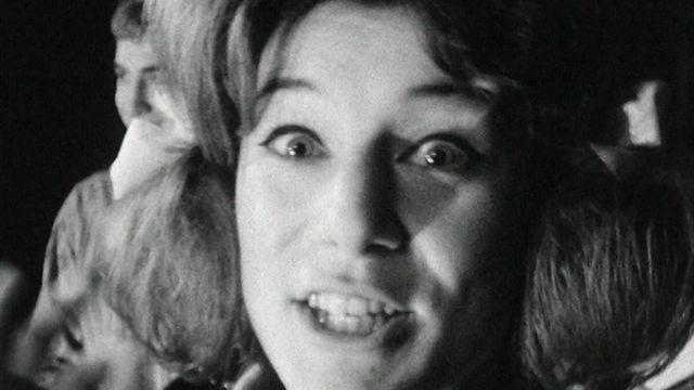 Sheila en 1964. [RTS]