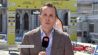 Tour de Romandie: les précisions de Romain Roseng, à Fribourg [RTS]