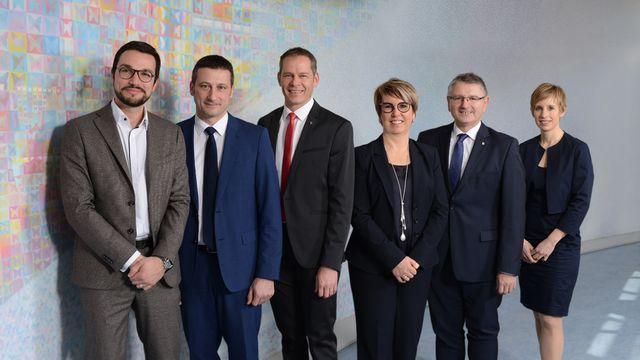 La photo officielle 2018 du Gouvernement jurassien. [jura.ch]