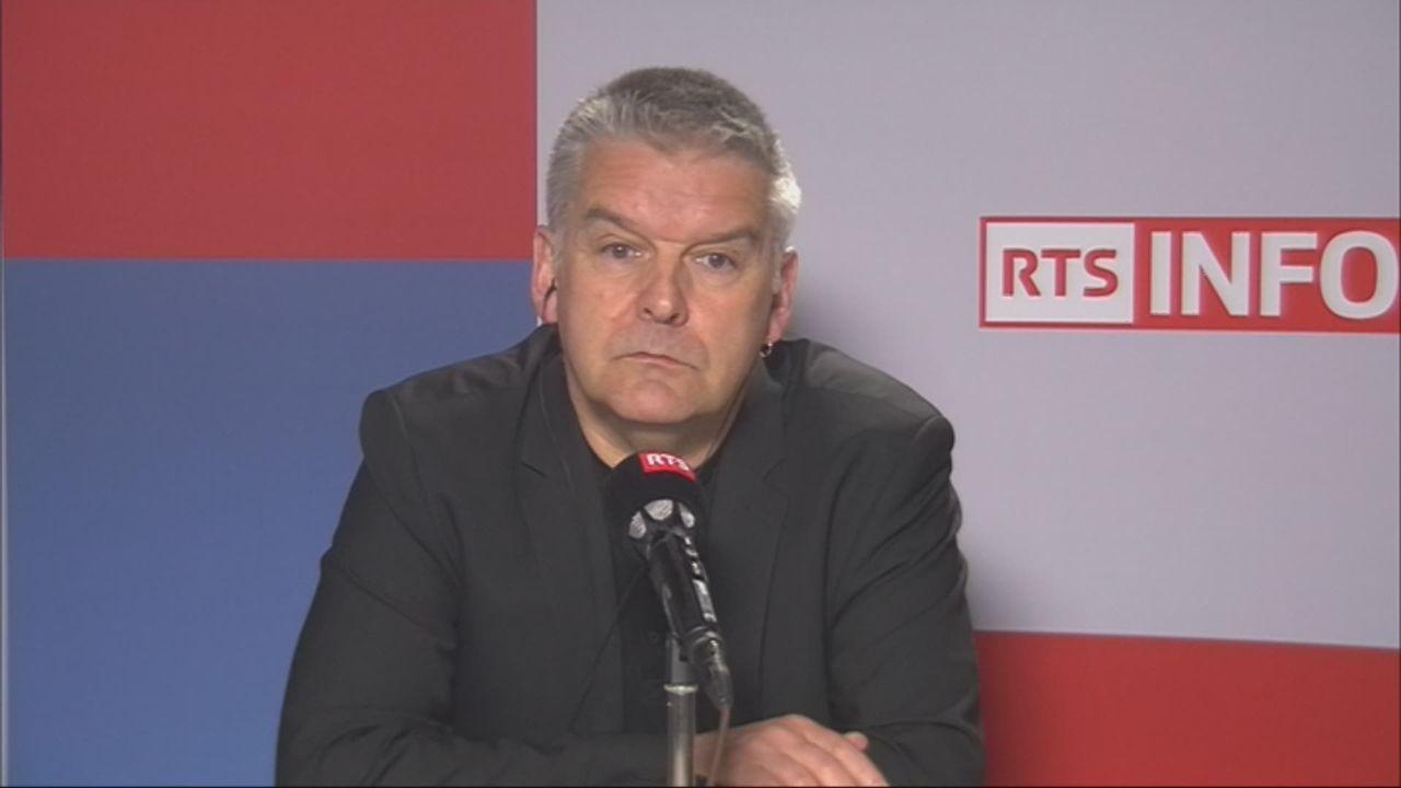 L'invité de Romain Clivaz (vidéo) - Denis de la Reussille, conseiller national POP neuchâtelois [RTS]