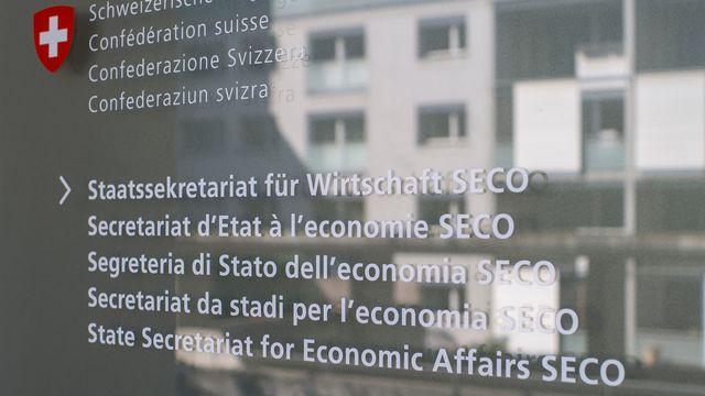 Le secrétariat d'Etat à l'économie (SECO) à Berne. [Gian Ehrenzeller - Keystone]