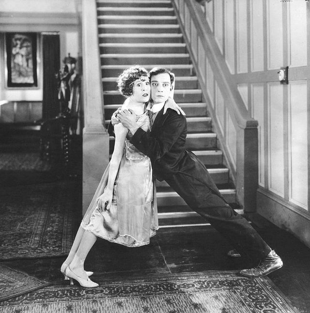 Buster Keaton et Virginia - THE ELECTRIC HOUSE (1922) [First National Pictures - wikipedia]