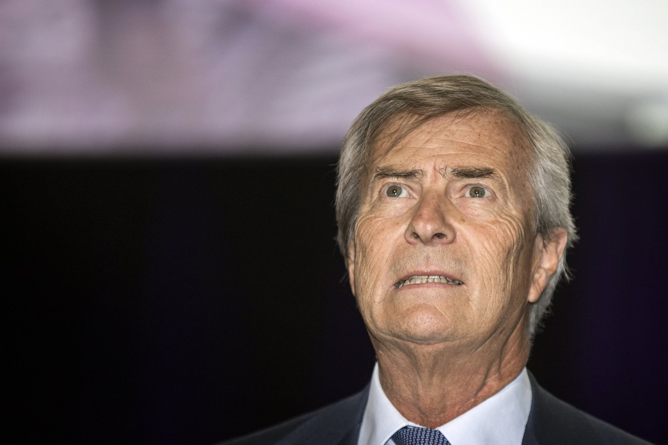 Vincent Bolloré, photographié en avril 2015