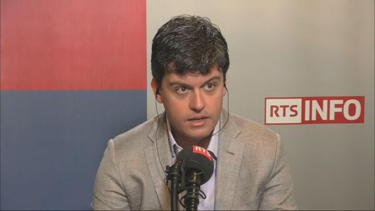 L'invité de Romain Clivaz (vidéo) - Gaspard Kœnig, président du think tank GenerationLibre [RTS]