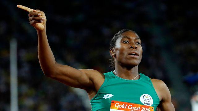 L'athlète sud-africaine Caster Semenya fait partie des athlètes visées par l'IAAF. [Mark Schiefelbein - AP Photo /Keystone]