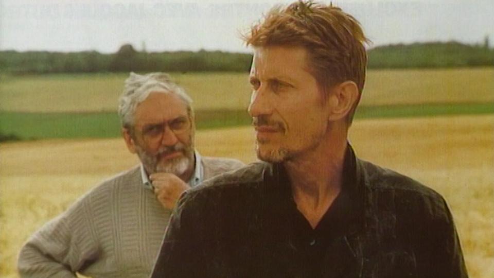 """Jacques Dutronc et Maurice Pialat sur le tournage de """"Van Gogh"""". [RTS]"""