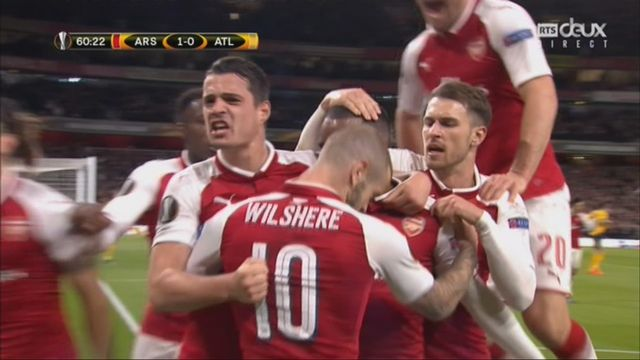 1-2, Arsenal - Atletico 1-0: 61e Alexandre Lacazette [RTS]