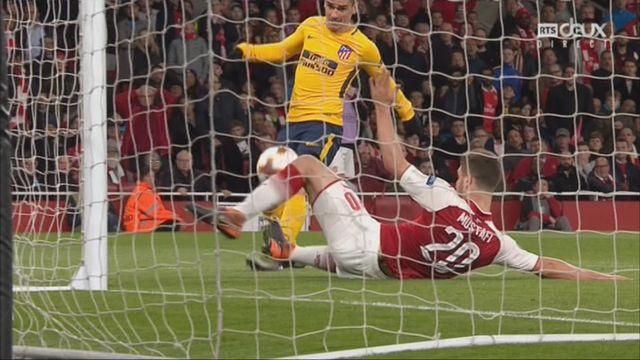 1-2, Arsenal - Atletico 1-1: 82e Antoine Griezmann [RTS]