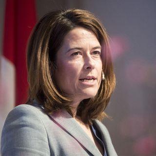 La conseillère nationale schwyzoise et présidente du PLR Petra Gössi. [Urs Flueeler - Keystone]