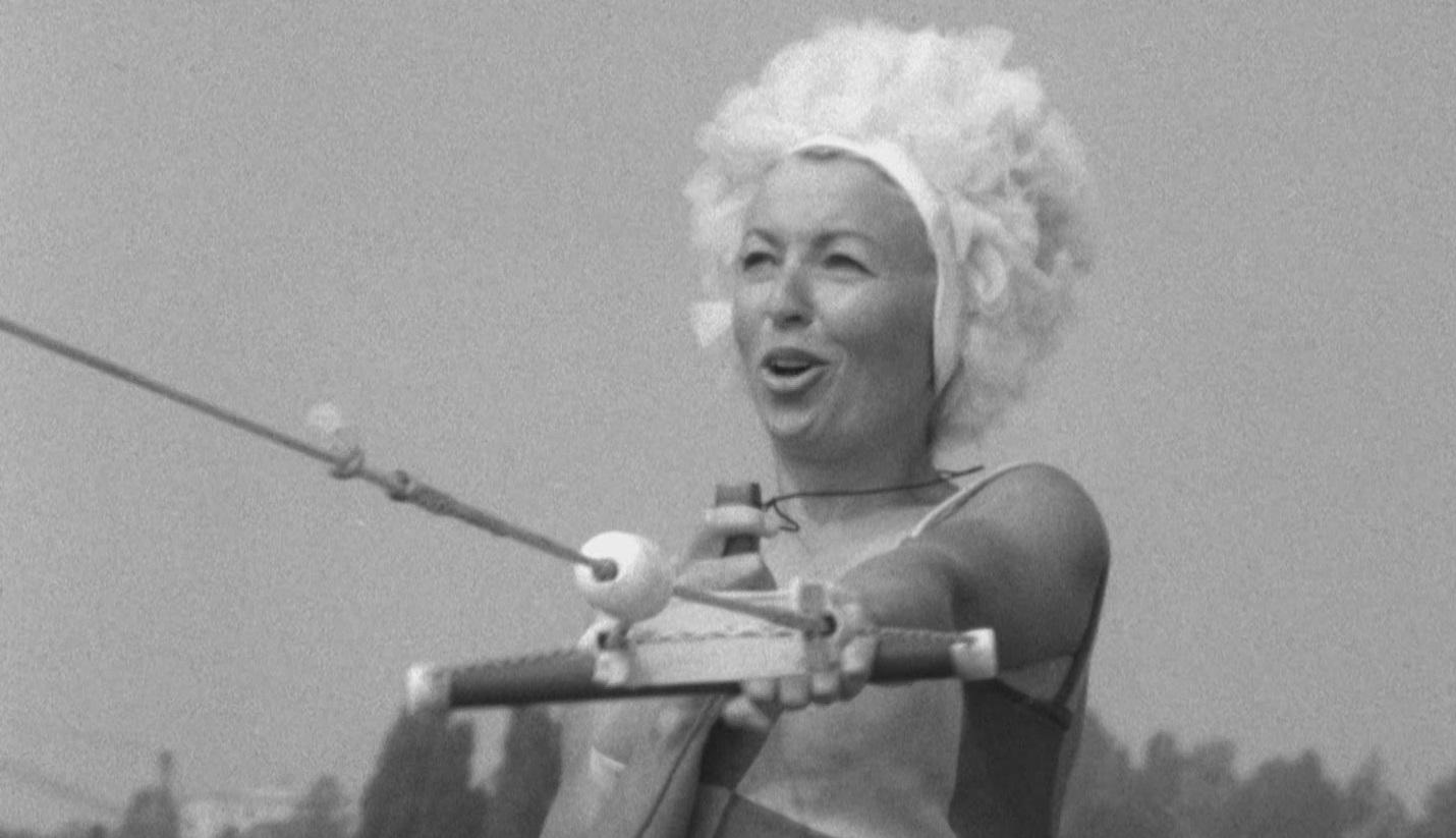 La sirène à ski