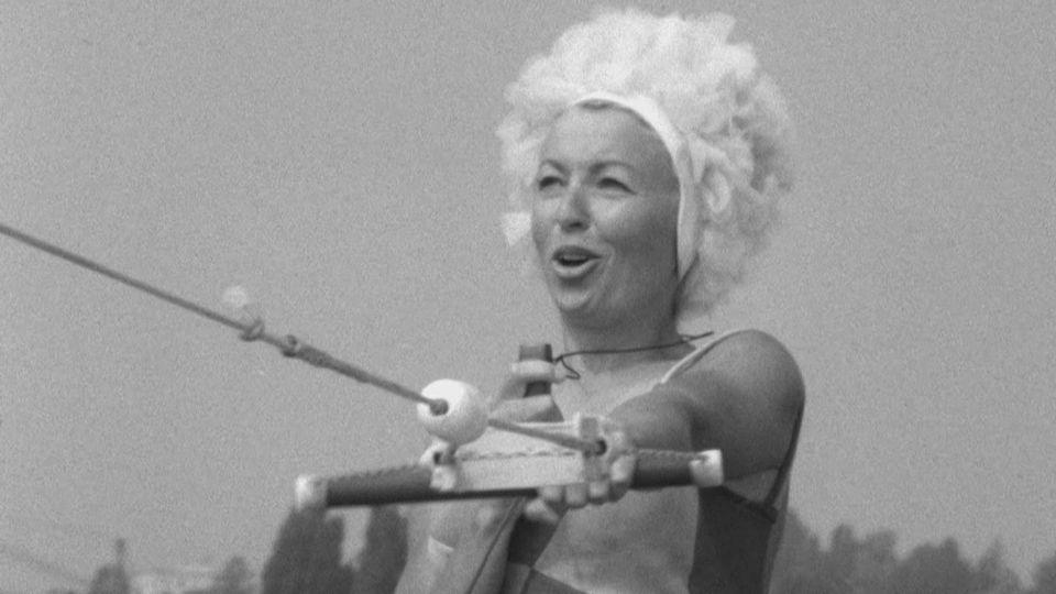 Eliane Borter championne de ski nautique [RTS]
