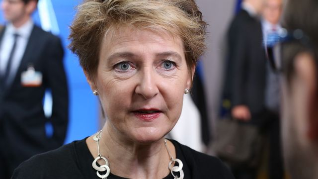 La conseillère fédérale Simonetta Sommaruga. [Dursun Aydemir - Anadolu Agency/AFP]