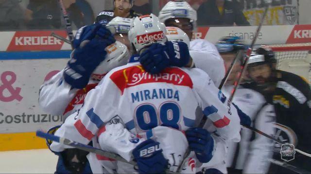 Acte VII, finale, Lugano - Zurich (0-1): 7e, Geering [RTS]