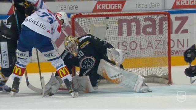 Acte VII, finale, Lugano - Zurich (0-1): 14e, but refusé à Zurich [RTS]