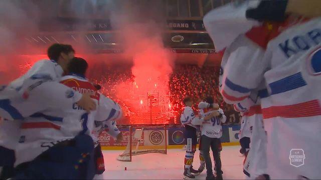 Acte VII, finale, Lugano - Zurich (0-2): les Lions sont champions de Suisse! [RTS]