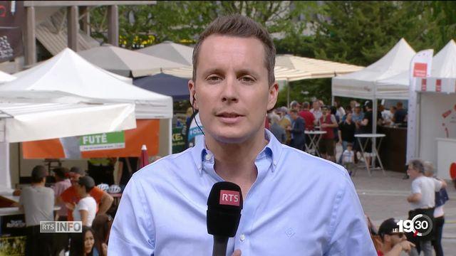 Tour de Romandie: l'éclairage de Romain Roseng [RTS]