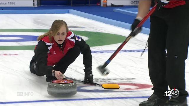La Suisse est devenue championne du monde de curling mixte à Ostersund en Suède [RTS]