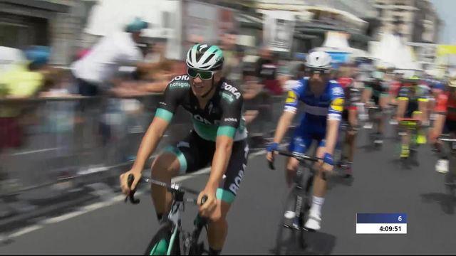 5e étape, Mont-sur-Rolle - Genève: victoire de Pascal Ackermann  (GER) [RTS]