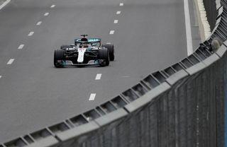 Lewis Hamilton a bénéficié de circonstances particulières pour s'imposer. [Luca Bruno - Keystone]