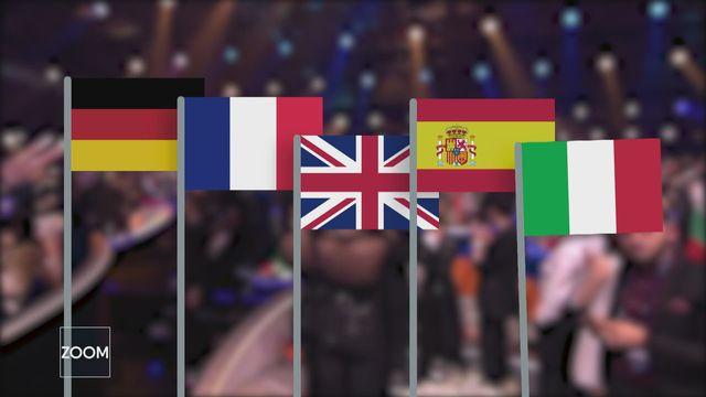 Les Big Five du concours de l'Eurovision [RTS]